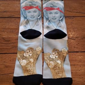 Odd Sox Underwear & Socks - NWT - MARILYN MONROE PDD SOX THUG ANGEL